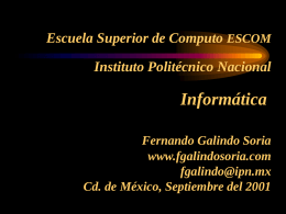 Informática - Fernando Galindo Soria