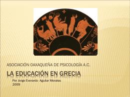 La educación en Grecia