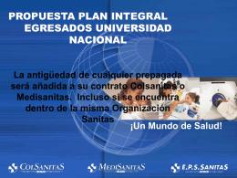 Descargue la presentación - Universidad Nacional de Colombia