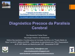 Diagnóstico Precoce da Paralisia Cerebral