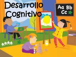 Qué es desarrollo cognitivo?