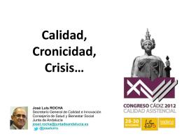 Conferencia de clausura del Sr. José Luis Rocha