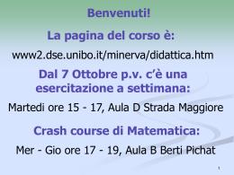 Cap. 1 - Università di Bologna