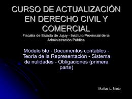 CURSO DE ACTUALIZACIÓN EN DERECHO CIVIL Y COMERCIAL