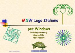 MSW Logo Italiano