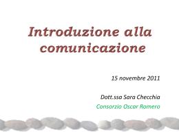 Slide sulla comunicazione
