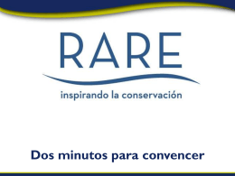 Demuestra entusiasmo - rareplanet has moved to rare.org