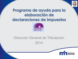 5. Presentación EDDI7 2014 Inf y asistencia