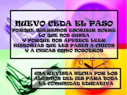 CEDA EL PASO - Educastur Hospedaje Web