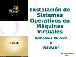 Instalación de Sistemas Operativos y Máquinas Virtuales