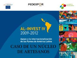 FEDEXPOR, Ecuador / AL INVEST: Núcleo de Artesanos de la