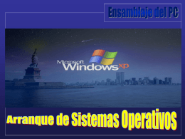 Instalación Windows XP (PASO 1)