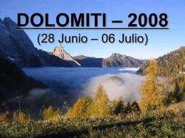 dolomiti – 2008