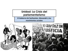 1.CRISIS PARLAMENTARISMO PRIMER G