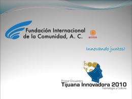 Diapositiva 1 - Fundación Internacional de la Comunidad AC