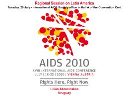 Presentación Lilian Abracinskas Viena 2010 ESPANOL