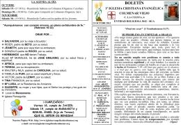 13 Octubre 2013 - Iglesia Cristiana Evangélica de Colmenar Viejo