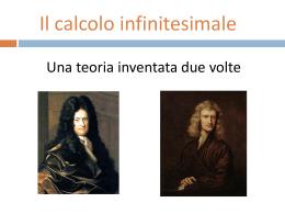 """Origini del calcolo infinitesimale - Dipartimento di Matematica """"U.Dini"""""""