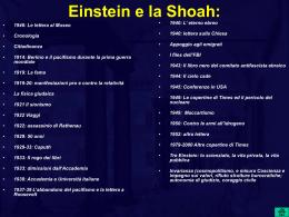 Einstein e la Shoah