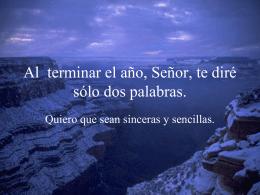 Presentación de PowerPoint - Parroquia San Luis Beltrán