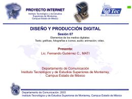 Sesión 07 - Fernando Gutiérrez :: Tecnología y Sociedad