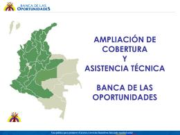 ONGs - Banca de las Oportunidades