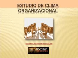 material curso estudio de clima organizacional