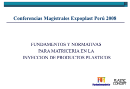 Conferencias Magistrales Expoplast Perú 2008