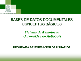 Bases_de_Datos_Conceptos - Departamento de Bibliotecas