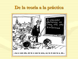 La evaluación como parte de la enseñanza