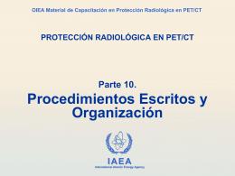 10. Procedimientos y Organización