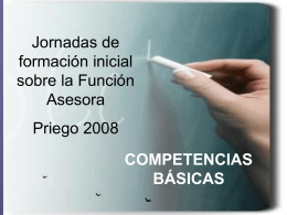 competencias básicas - priego - CEP de Alcalá de Guadaíra