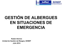 Presentación Albergues SOSEP Hotel Holide in 19