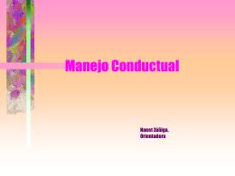 Taller conductual 2