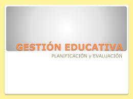 La evaluación - Igualdad y Calidad Educativa