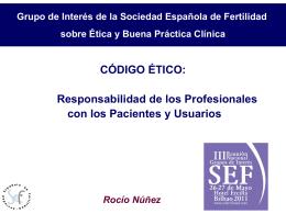 CLONATGE - Sociedad Española de Fertilidad