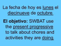 ¿Qué estás haciendo? - Language Links 2006