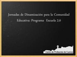 E2.0padresrural - Centro de Profesores de Cuenca