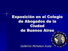 Dr. Guillermo Michelson Irusta Introducción a los medios