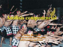 06 - Análisis componencial