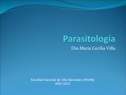 Generalidades Parasitología UNViMe