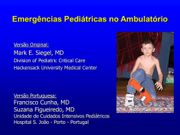 Pediatric Office Emergencies