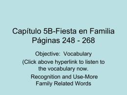 Capítulo 5B-Fiesta en Familia