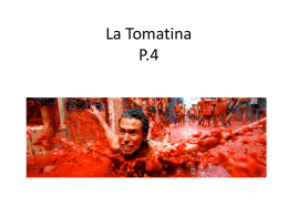 La Tomatina - Spanish Class Info