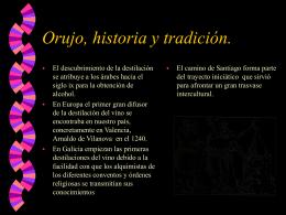 Orujo, historia y tradición.