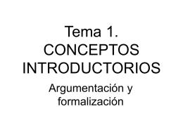 CLASE 5. LA LOGICA
