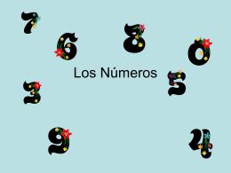 Los Números - Kenston Local Schools