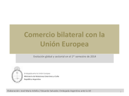 2014 - T2 - Embajada de la República Argentina en Rep ante Unión