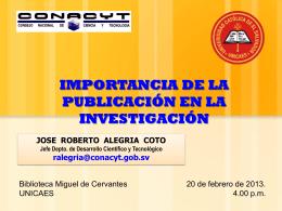 PowerPoint Template - Consejo Nacional de Ciencia y Tecnología
