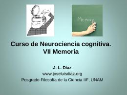 7. Memoria - José Luis Díaz